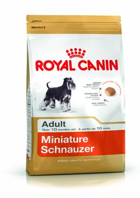 Royal Canin Breed Miniature Schnauzer Ad 3kg - Royal Canin - 101559